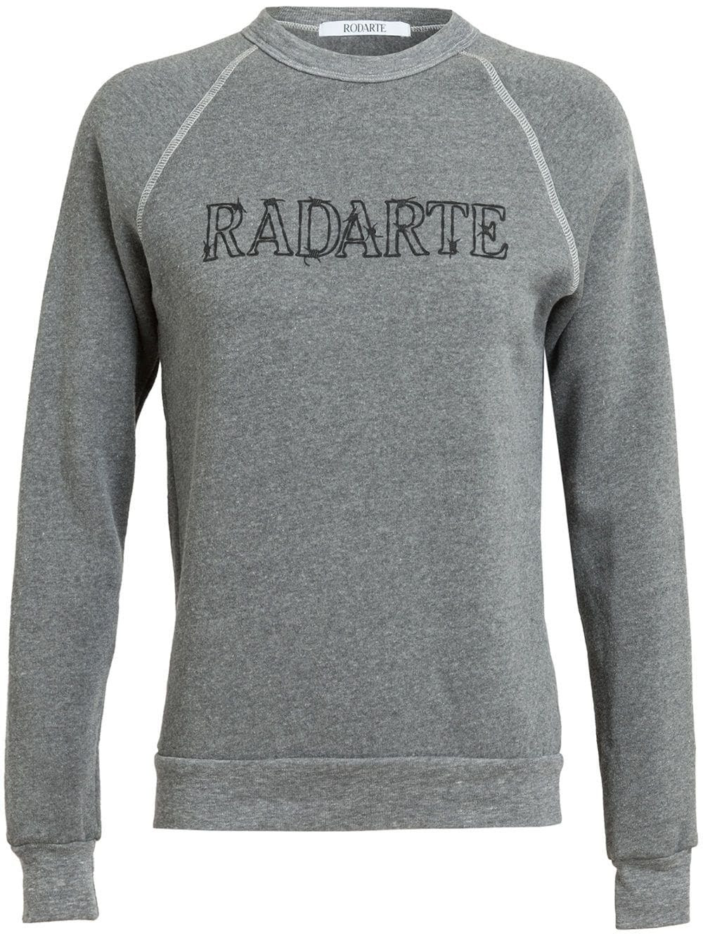 RODARTE - Barbed Wire Radarte Printed Sweatshirt 4