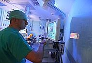 La nuova sala operatoria mini invasiva del Sant'Orsola