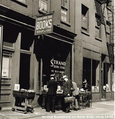 Resultado de imagen para El dueño de Strand, la mayor tienda de libros de segunda mano de Nueva York, murió este miércoles
