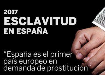 """""""España es el primer país europeo en demanda de prostitución"""""""