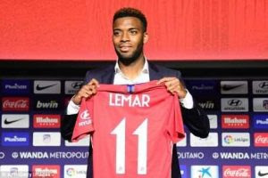 » Atletico Madrid Unveils New Signing, Thomas Lemar (Photo)