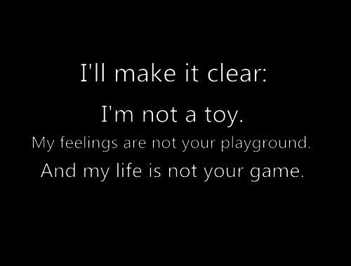 Beautiful No Time For Games Quotes