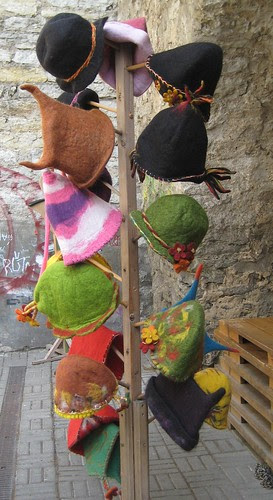 Felted hats by Anna Amnell