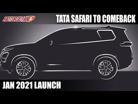 Tata Safari Coming BACK - This Month Launch