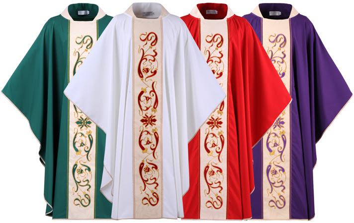 Resultado de imagem para Missa Vestes e cores liturgicas