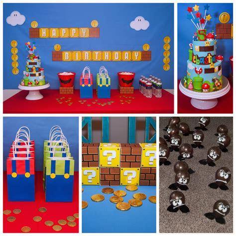 Super Mario Birthday Party Ideas   Photo 4 of 14   Catch