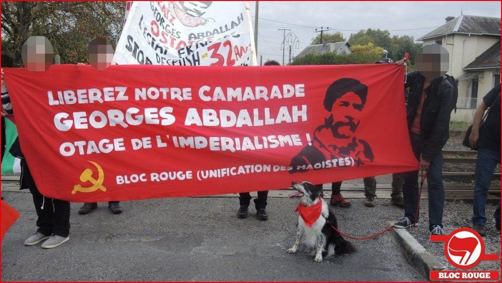 Compte-rendu de la manifestation pour la libération de Georges Ibrahim Abdallah à Lannemezan