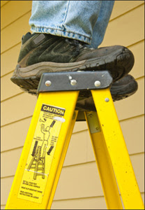 Ladder falls account for substantial proportions of U.S. fall injuries and deaths.