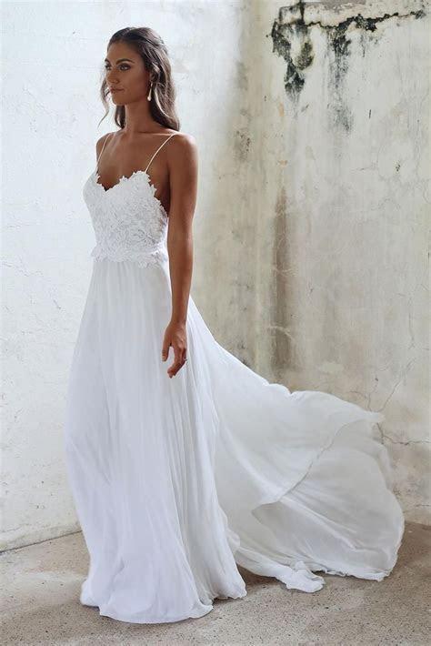 Best 25 Wedding Dress Simple Ideas On Pinterest Simple