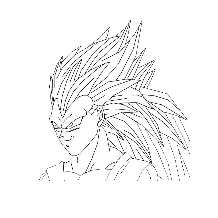 Coloriage Dragon Ball Z Sangoku Az Coloriage