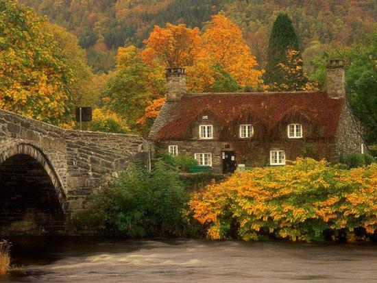 Εντυπωσιακά σπίτια μέσα στη φύση