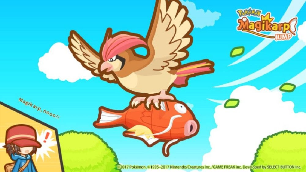I can't stop playing Magikarp Jump screenshot