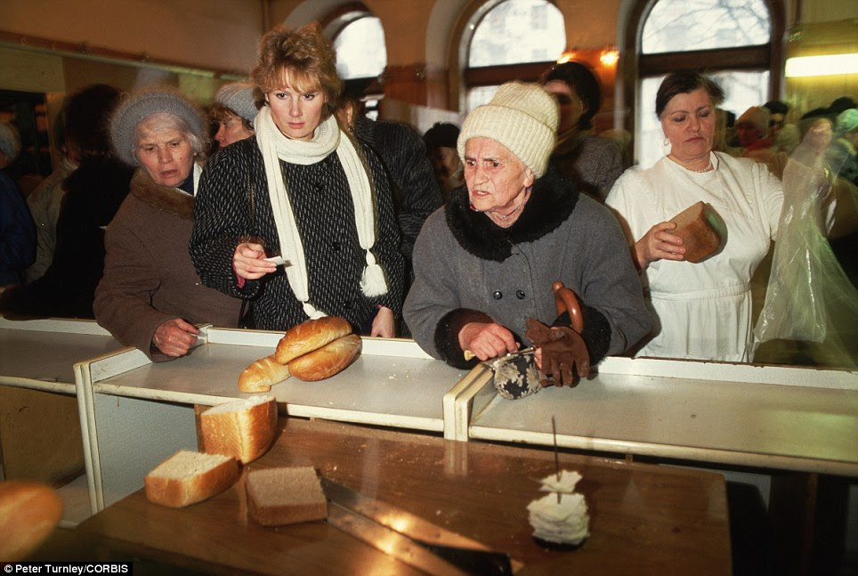 Image result for USSR collapse food