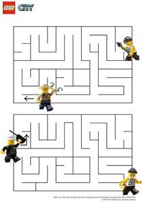Coloriages Lego City à Imprimer Coloriages Dessins Animes