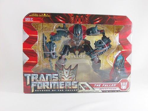 Transformers The Fallen RotF Voyager - caja