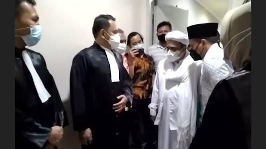 Kisruh Habib Rizieq di Rutan Bareskrim, Polri: Itu Ada Hakim dan Jaksa