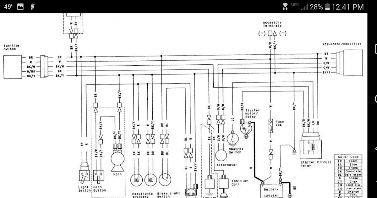 Kawasaki Mule Ignition Switch Wiring Diagram - Wiring ...