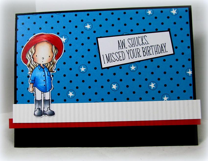 Birthday Card - Monica Edwards