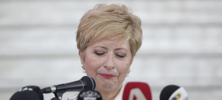 «Ζήτω η Μακεδονία» φώναξε με δάκρυα η Τσαρουχά -Εχασε τα λόγια της η Νοτοπούλου [βίντεο]