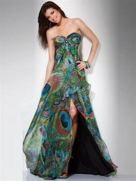 Peacock clothes on Pinterest   Peacock Dress, Peacock