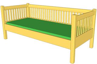 2X4 Bed Frame Plans