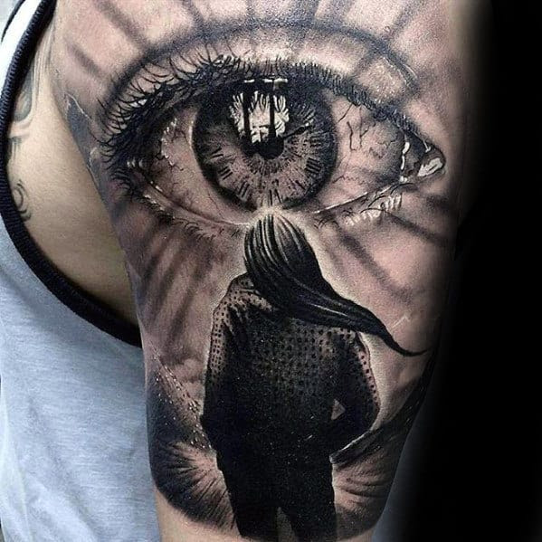 50 Realistic Eye Tattoo Designs For Men - Visionary Ink Ideas