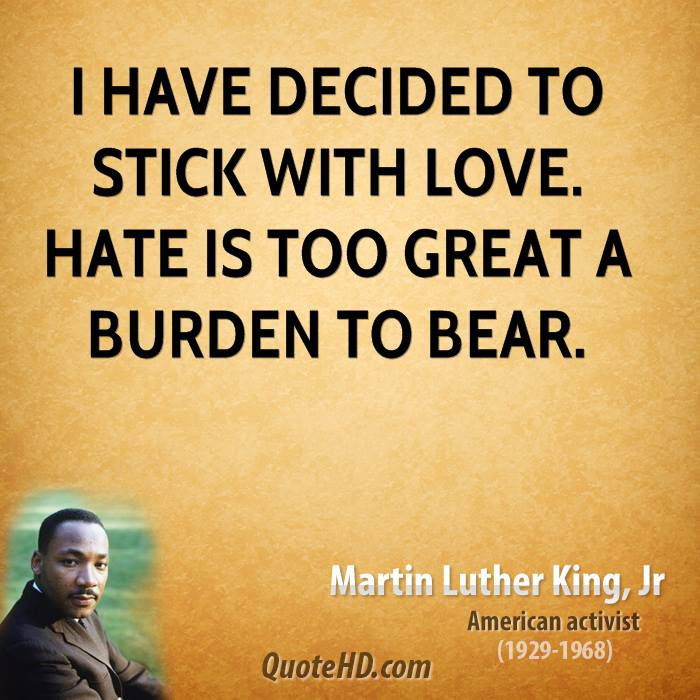 Martin Luther King Jr Love Quotes Quotehd