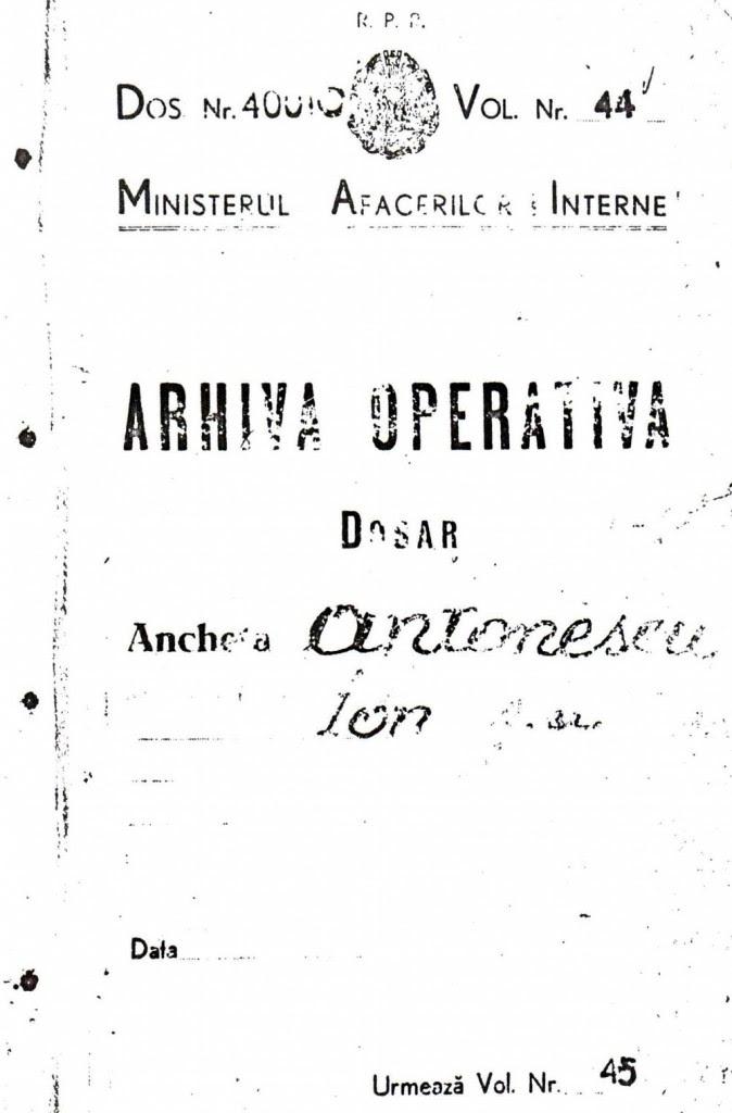 Arhiva Operativa - Ion Antonescu - Gh. Buzatu via Ziaristi Online