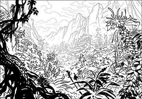 art  jim nelson truga jungle