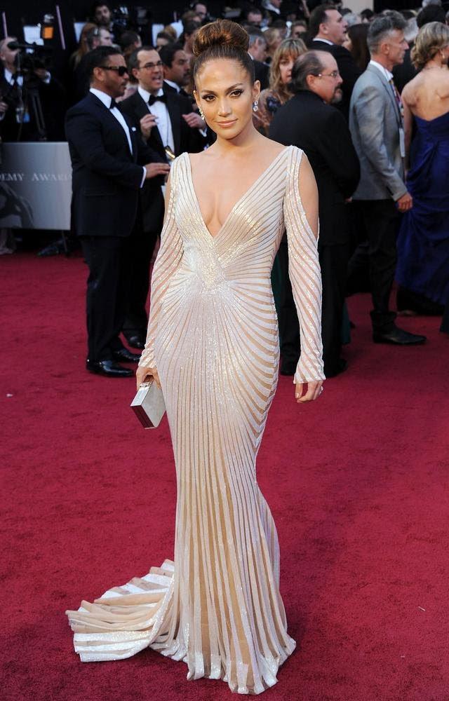 vestido de Zuhair Murad Jennifer López Oscar 2012