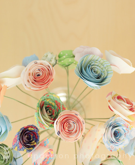 paper flower bouquet for may day 2