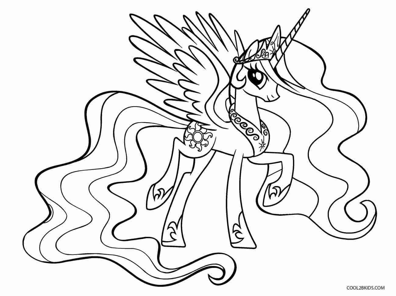 malvorlagen kostenlos my little pony ausmalbilder