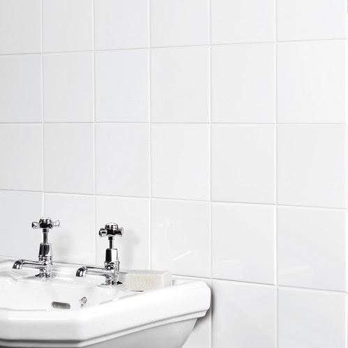 Plain White Gloss Ceramic Tile | The Tile Outlet | Belfast ...