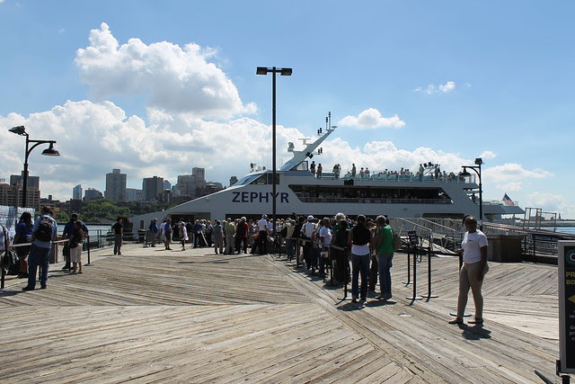 Circle Line's Zephyr at South Street Seaport