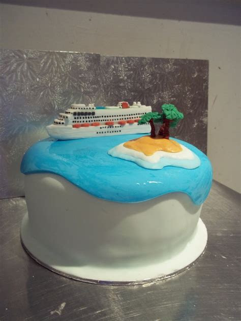 Cruise Ship Wedding Cake   CakeCentral.com