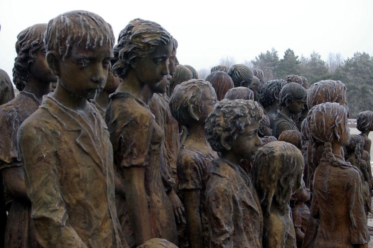 Memorial das Crianças Vítimas de Guerra em Lidice 13