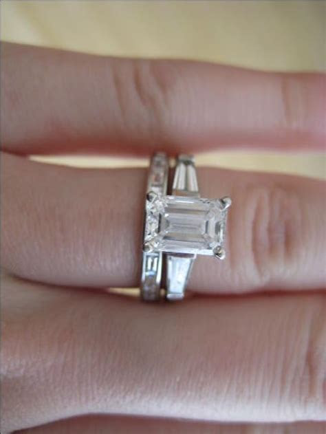 1000  ideas about Baguette Wedding Bands on Pinterest