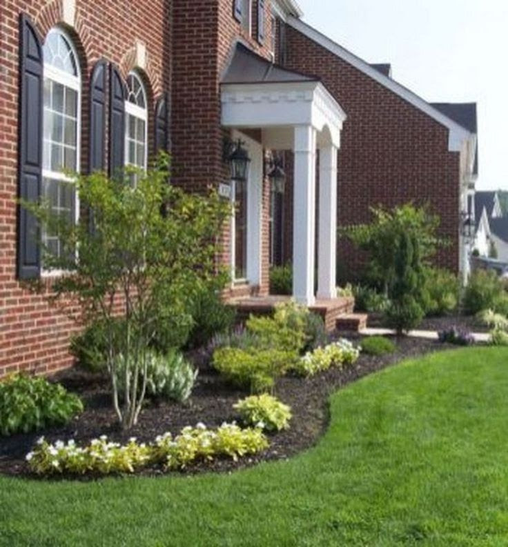 51 simple and small front yard landscaping ideas for low ...