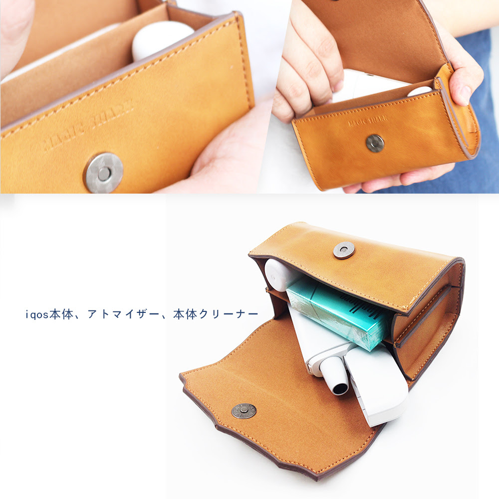 Electronics Happy Consumer: Skin Iqos Leather Cigarette Magic Cover