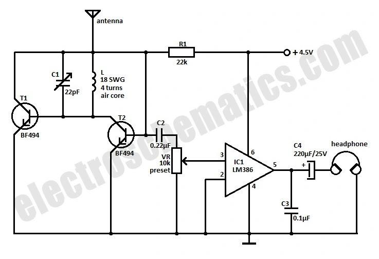 radio station circuit diagram