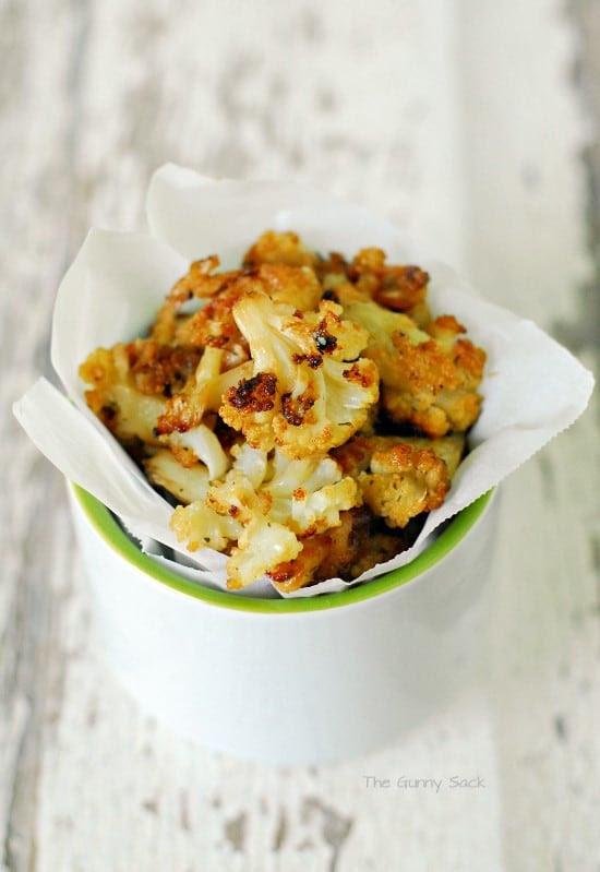 Ranch Cauliflower Bites Recipe by The Gunny Sack