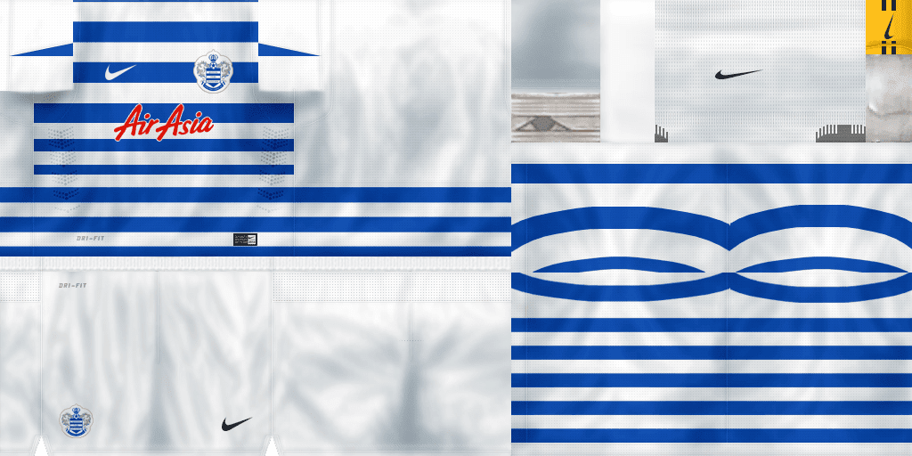 Queens Park Rangers Kit 2014/2015 By LilAlvaro | CR7 EDITIONS PES 6