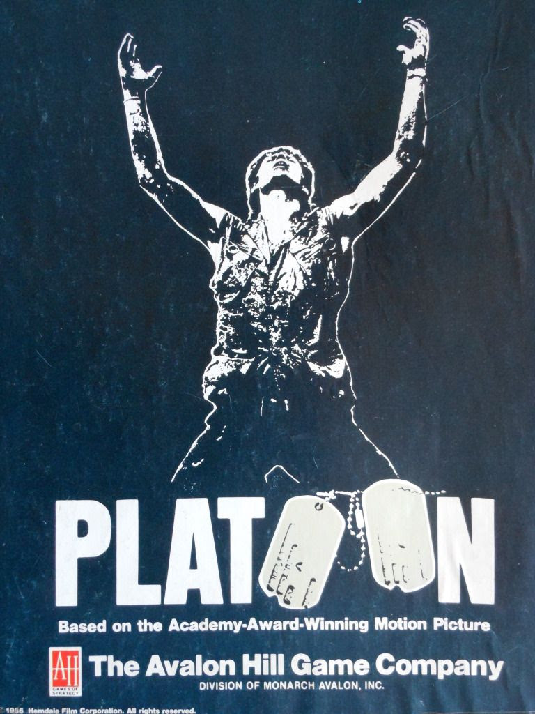 Platoon board game