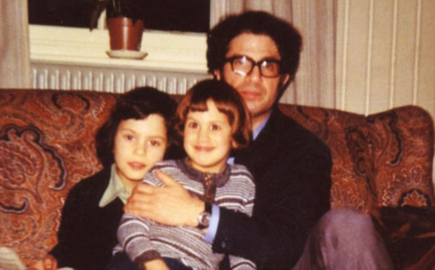 The Miliband boys: David with Ed (centre) and father Ralph