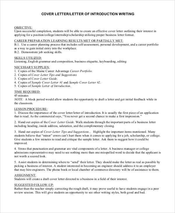 Introduction Of Cover Letter from lh5.googleusercontent.com
