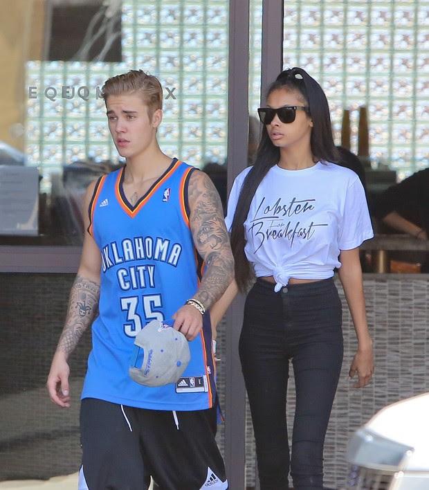 Justin Bieber e Jayde Pierce (Foto: X17)