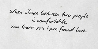 Silence In Love Quotes And Sayings