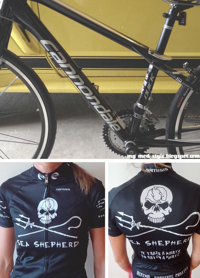 Bike and Sea Shepherds
