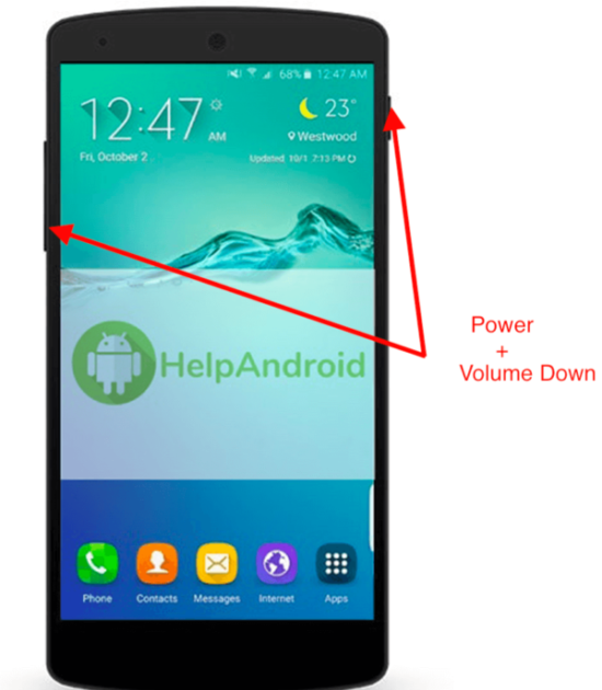 How To Take A Screenshot On Android Lg Phone