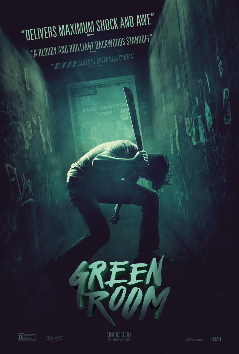 Resultado de imagen de green room poster